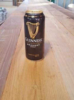 First Guinness on New Bar!