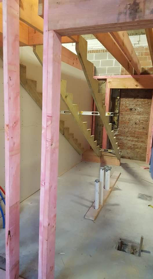 Stair Build-out - Jan 15
