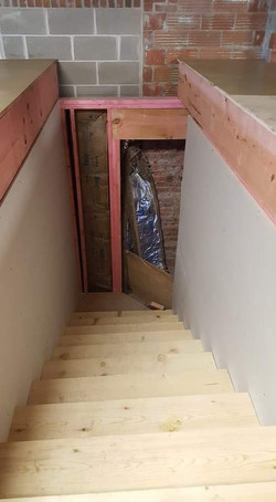 Stair Completed - Jan 17