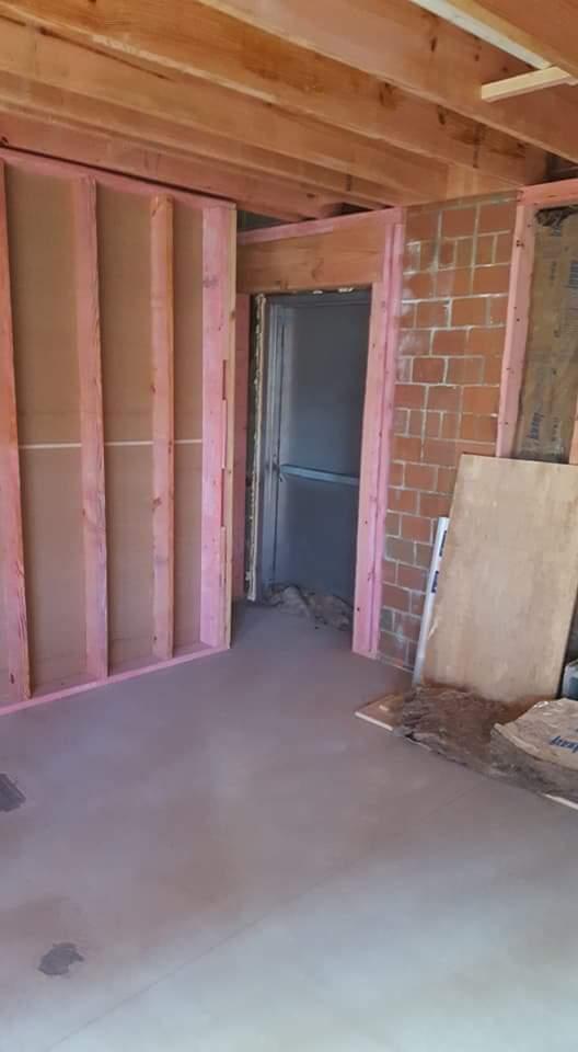 Back Door in Kitchen - Jan 28