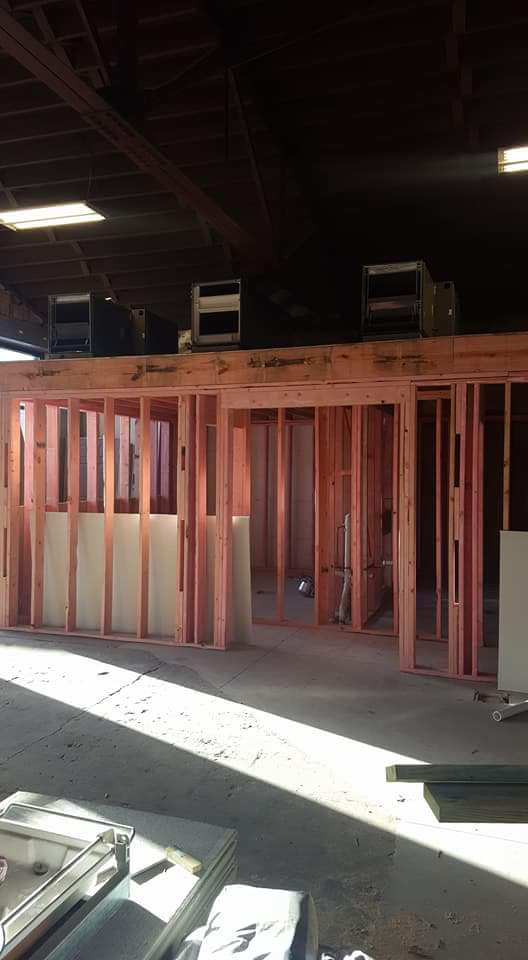 Framing for bathrooms