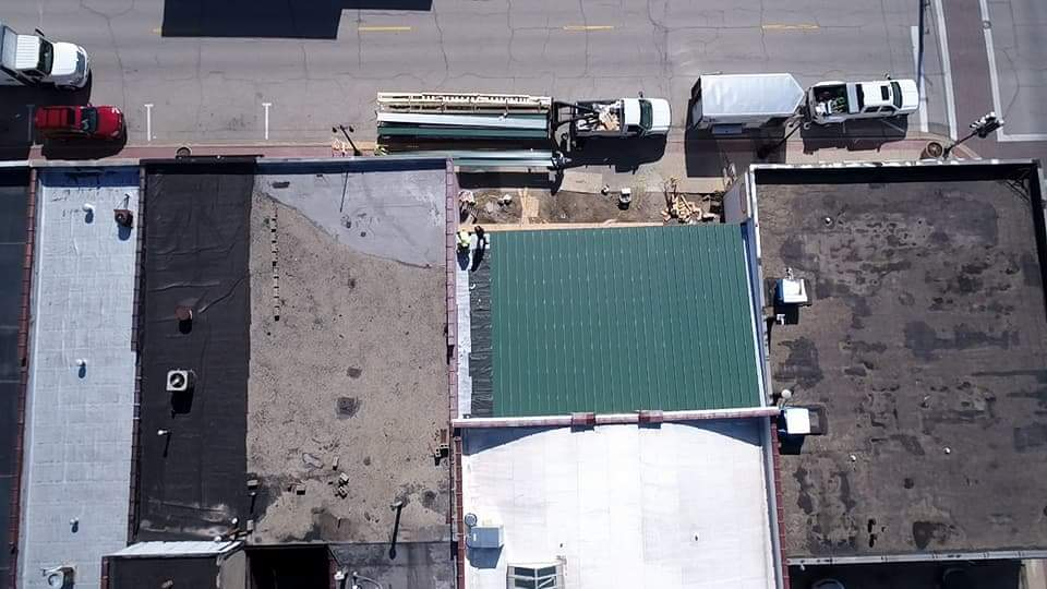 Roof install - Mar 16