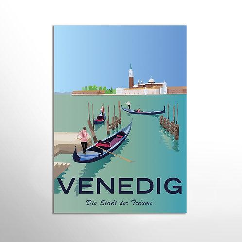 Poster – Tourismusplakat Venedig