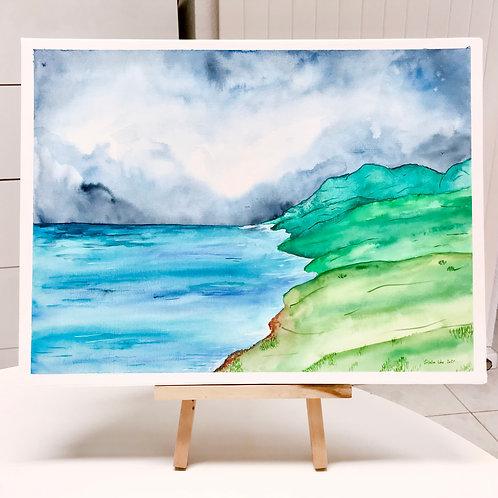 Aquarelle _ Island