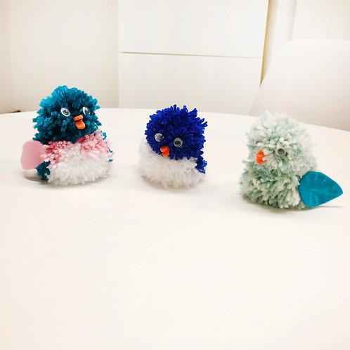 Pompon Vögel