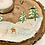 Thumbnail: Teelichthalter aus Holz Hase im Wald