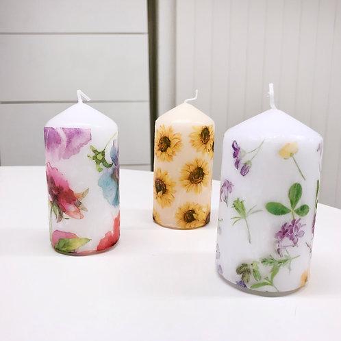 Kerzen Blumen