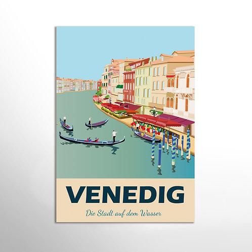 Poster – Tourismusplakat Venedig 3
