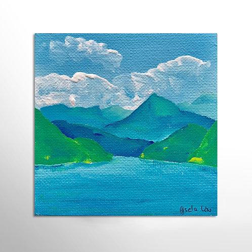Gemälde «Vierwaldstättersee» (klein)