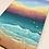 Thumbnail: Minigemälde - Am Strand von Jesolo