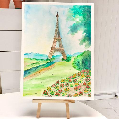 Aquarelle _Paris