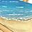 Thumbnail: Minigemälde -Strand