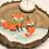 Thumbnail: Teelichthalter aus Holz Füchse