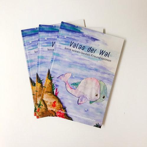 Kinderbuch Valas der Wal