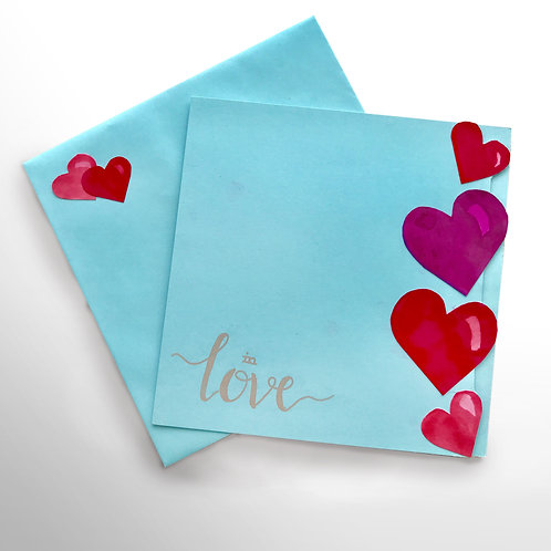 Karte «in love»