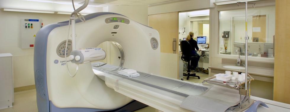 UCSF Medical Center - CT Scanner