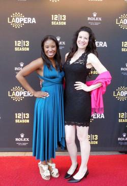 LA Opera Red Carpet with Nicole