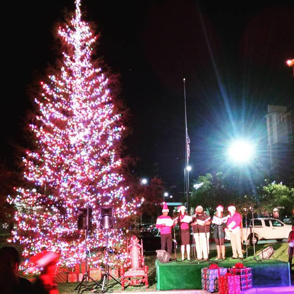 Tree-lighting Ceremony