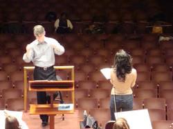 Carmina Burana Rehearsal