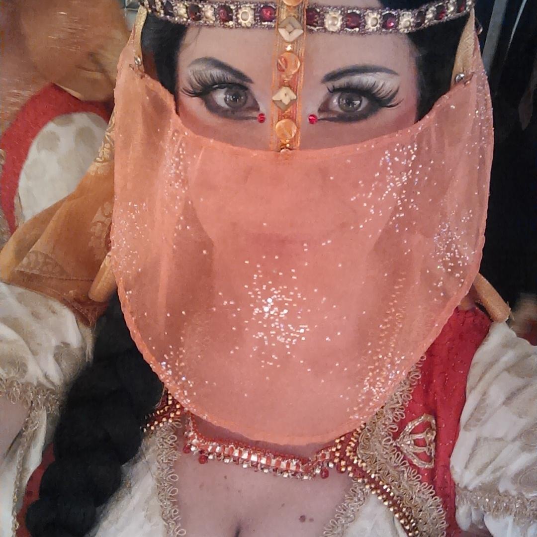 Turkish Dancing Girl Selfie