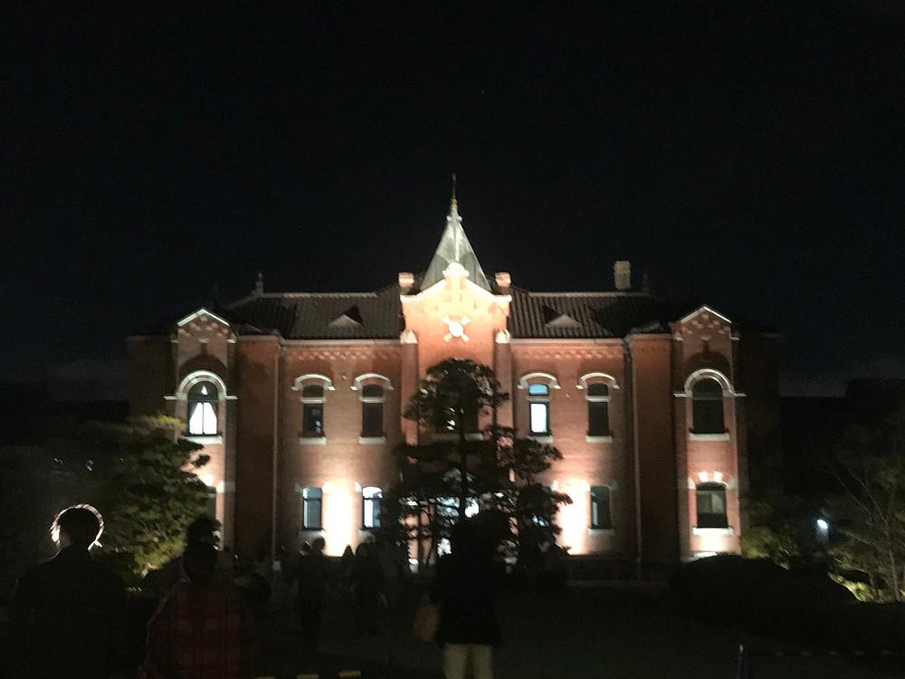 旧奈良監獄のライトアップ