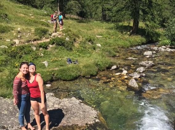 waterfall Binntal 2020