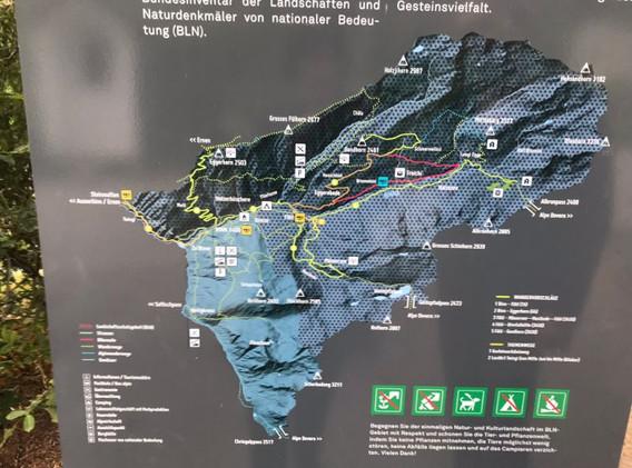 Map of Binntal 2020