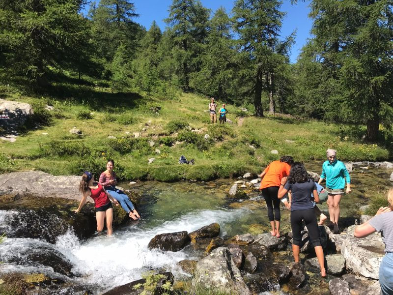 Hike accomplished- waterfall Binntal