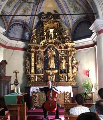 David Pfistner Antonius  Kapelle 2020
