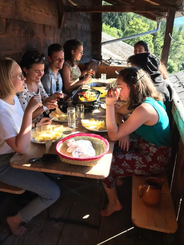 Raclette in Muehlebach