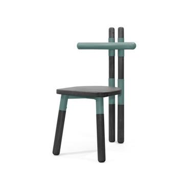 Cadeira PK12 Verde - Ebanizado