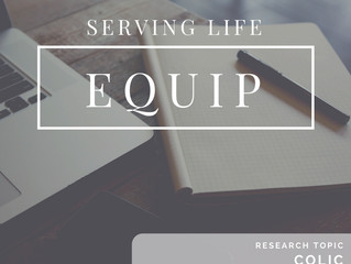 SLC Equip: Research on Colic & Chiropractic