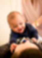 Child Adjustment | With Mom | Happy Baby | Pediatric Chiropractic Care | Back Adjustment | Dallas Pediatric Chiropractor | Chiropractic for Babies