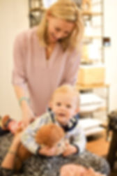 Child Adjustment | With Mom | Happy Kids | Dallas Pediatric Chiropractic Care | Child Back Adjustment | Chiropractic for Children