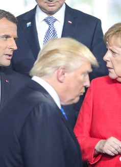 The current Franco-German axis in the EU: relations with the US and Russia