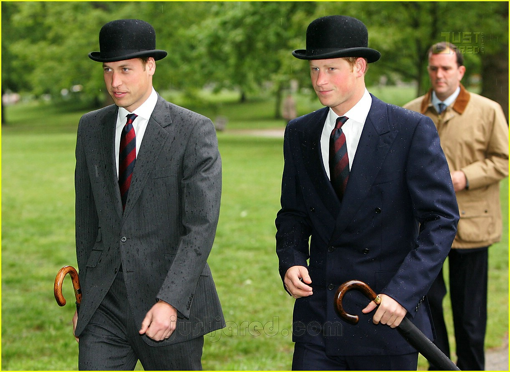 The Royal Family tapping into stereotypes. (Source: www.justjared.com)