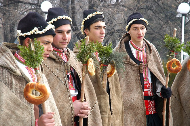 Bulgarian Koledari, Source:https://stzagora.net