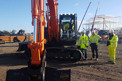 Site delivery of new 13t