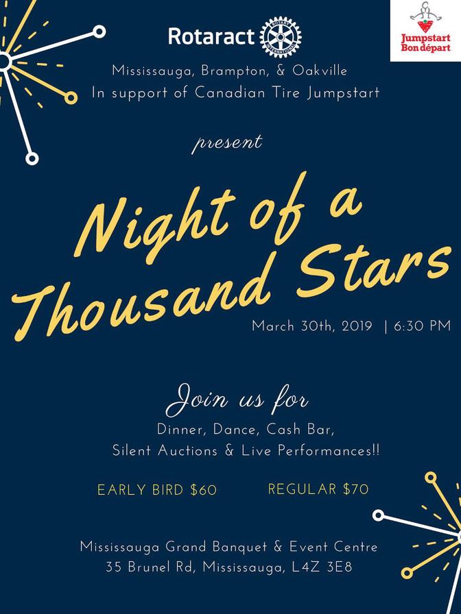 Night of a Thousand Stars Benefit Gala