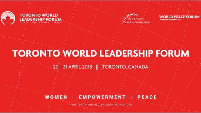 Business Development 2018: Toronto World Leadership Forum