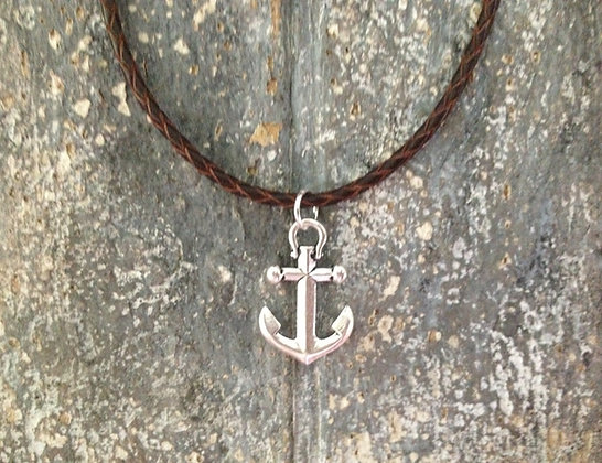 Sailwinds Anchor's Away Necklace