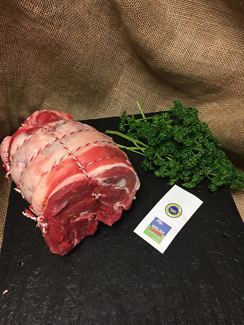 Whole Boneless Shoulder of Welsh Lamb
