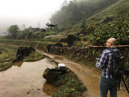 Fixer in Vietnam arranged drone permit for TVN channel in Sapa