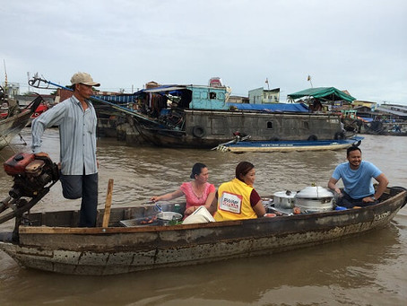 """Swap Kerja"" has been shot in Cai Rang Floating Market, Can Tho, Vietnam"