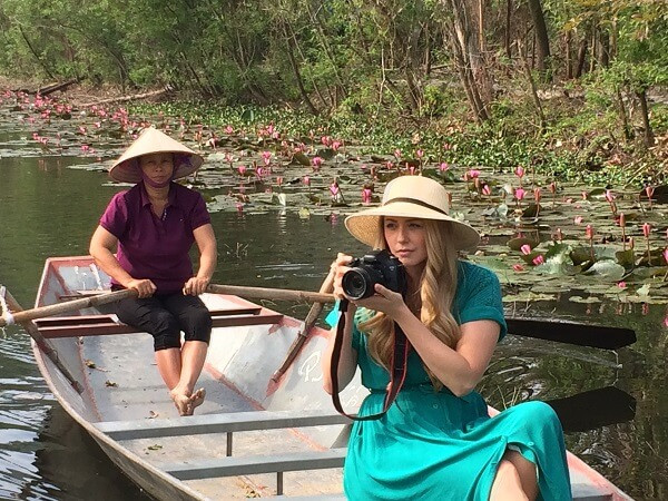 Vietnam fixer facilitated the filming in Perfume Pagoda for CNN