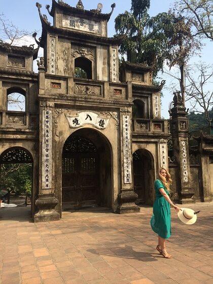 Fixer in Vietnam facilitated the shoot at ancient Perfume Pagoda in Hanoi