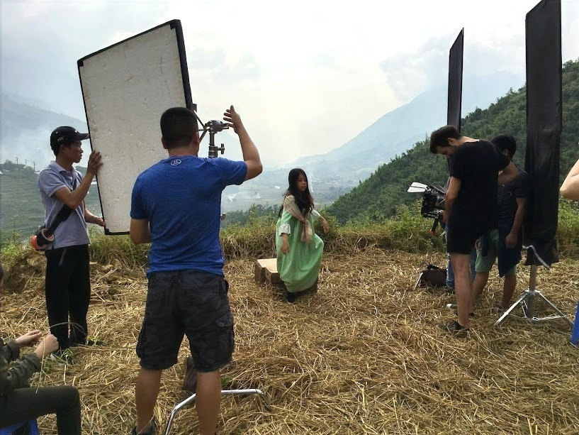 Vietnam fixer arranged the shoot in Sapa for Agile Films (UK)