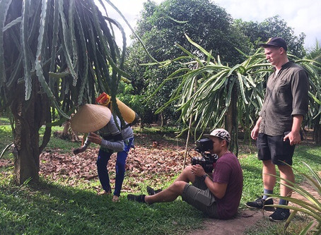 Interesting days with Australian Luminare Media in Can Tho, the heart of Mekong Delta