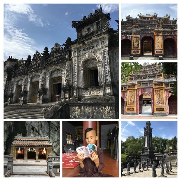 Fixer in Vietnam organised the shoot at Imperial City of Hue, Thien Mu pagoda, Khai Dinh tomb, Huyen Khong cave in Marble Mountain for American photographer Steve McCurry