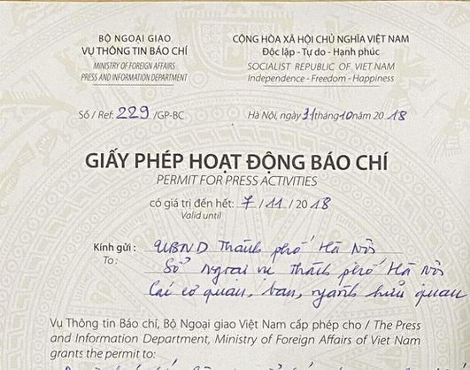 Vietnam film permit for foreign filming in Vietnam